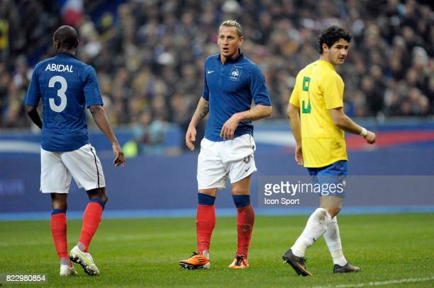 Eric ABIDAL / Philippe MEXES / PATO France / Bresil Match amical Stade de France