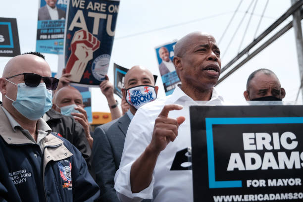NY: New York Mayoral Candidate Eric Adams Accepts Labor Endorsement