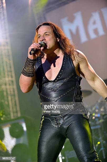 Eric Adams of Manowar performs at the Palladium on January 31 2010 in Cologne Germany