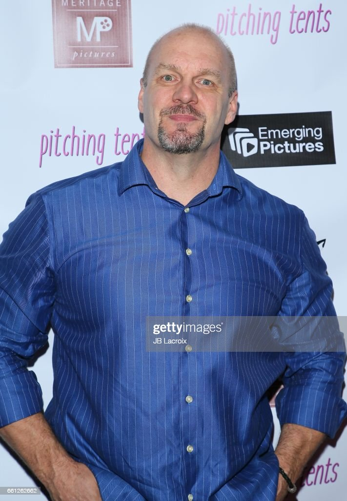 Eric Allan Kramer attends the premiere of Meritage Pictures' 'Pitching Tents' on March 30, 2017 in Santa Monica, California.