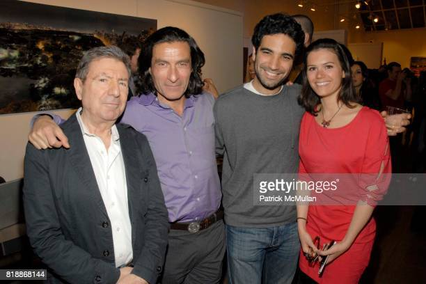 Eric Allouche and attend Opera Gallery Opening Voigt Monet and Vukelic at Opera Gallery on April 15 2010 in New York City