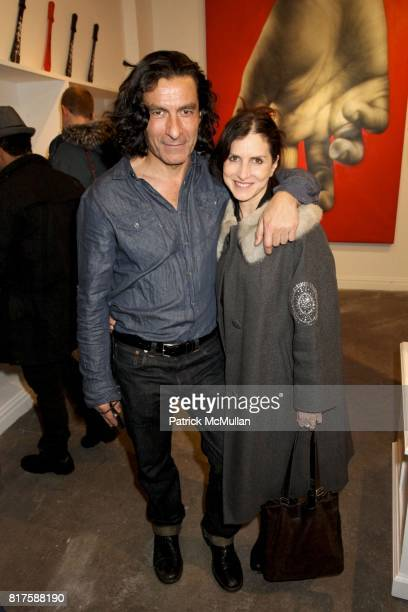 """Eric Allouche and Kim Allouche attend Opera Gallery presents Kid Zoom's This City Will Eat Me Alive"""" at Opera Gallery on December 11th 2010 in New..."""