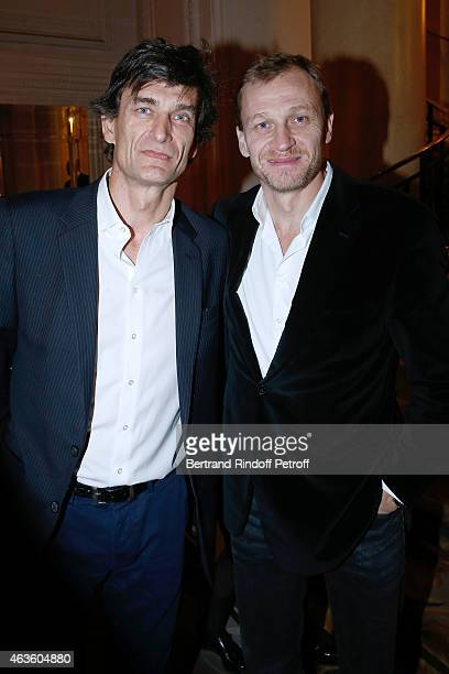 Eric Altmayer and his brother Nicolas Altmayer attend the 'Daniel Toscan du Plantier Producer's Price Cesar Film Awards 2015' Held at Hotel George V...