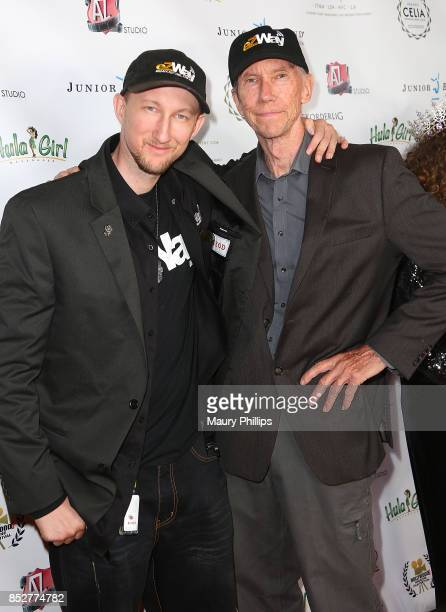 Eric and James Zuley attend Hollywood Weekly Magazine 4th Annual film festival at Raleigh Studios on September 23 2017 in Los Angeles California
