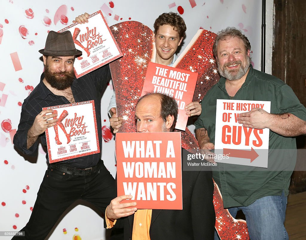 USA: \'Kinky Boots\' Cast Recording Listening Party Pictures | Getty ...