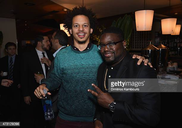 Eric Andre and Lil Rel Howery attend the Turner Upfront 2015 at Madison Square Garden on May 13 2015 in New York City JPG