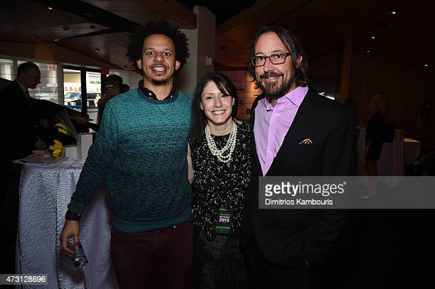 Eric Andre Christina Miller President at GM Cartoon Network Adult Swim Boomerang TBS Inc and television writer Michael Ouweleen attend the Turner...