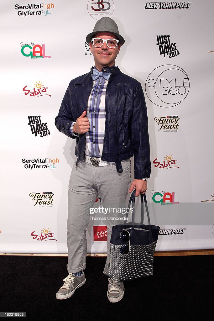 Eric Andrew attends Malan By Malan Breton Sponsored by Fancy Feast Gourmet Cat Food at the STYLE360 Fashion Pavilion in Chelsea on September 11, 2013 in New York City.