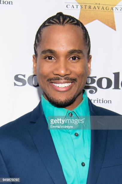 Eric Anthony attends 'CATstravaganza featuring Hamilton's Cats' on April 21, 2018 in Hollywood, California.