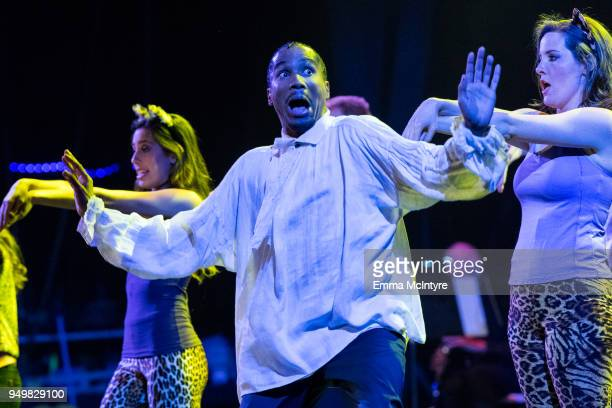 Eric Anthony performs onstage at 'CATstravaganza featuring Hamilton's Cats' on April 21, 2018 in Hollywood, California.