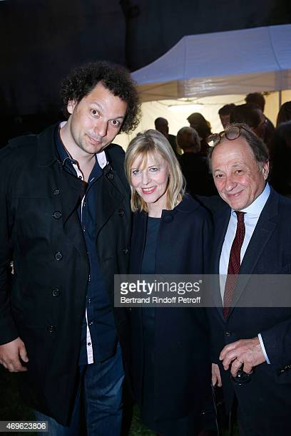 Eric Antoine Chantal Ladesou and her husband Michel Ansault attend Museum Paul Belmondo celebrates its 5th Anniversary on April 13 2015 in...