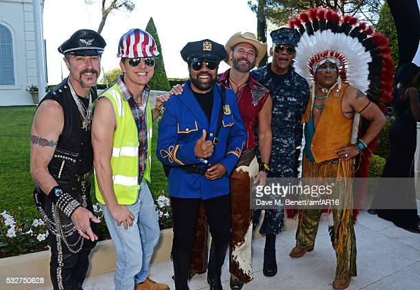 Eric Anzalone Ray Simpson Jim Newman Felipe Rose Bill Whitefield and Alex Briley and The Village People attends amfAR's 23rd Cinema Against AIDS Gala...