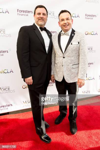Eric Aufdengarten and Dr Joe Nadeau attend the Gay Men's Chorus of Los Angeles' 7th Annual Voice Awards at The Ray Dolby Ballroom at Hollywood...