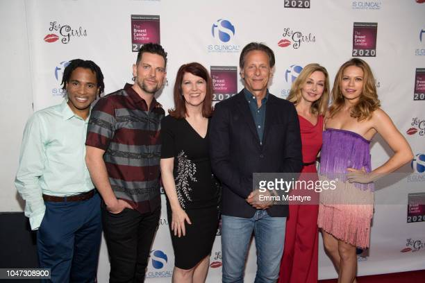 Eric B Anthony Chris Mann Kate Flannery Steven Weber Sharon Lawrence and Bethany Joy Lenz attend the National Breast Cancer Coalition's 18th Annual...