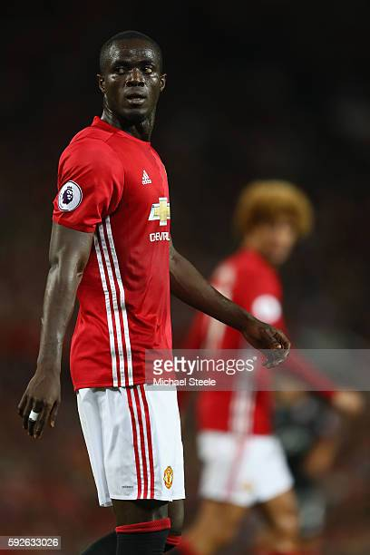 Eric Bailly of Manchester United during the Premier League match between Manchester United and Southampton at Old Trafford on August 19 2016 in...