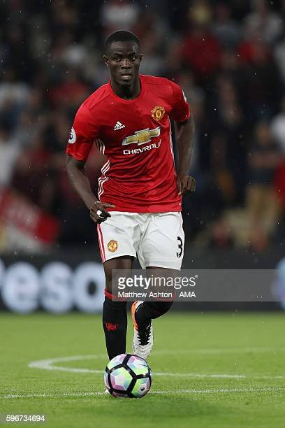 Eric Bailly of Manchester United during the Premier League match between Hull City and Manchester United at KC Stadium on August 27 2016 in Hull...