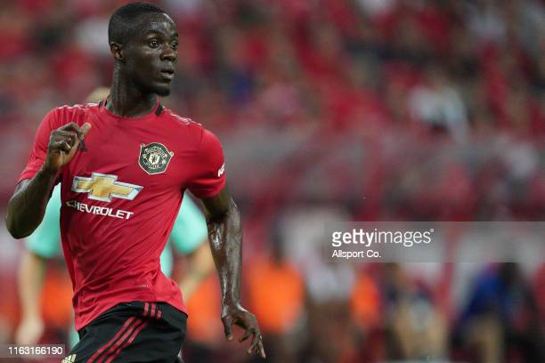Eric Bailly of Manchester United in action during the 2019 International Champions Cup match between Manchester United and FC Internazionale at the...