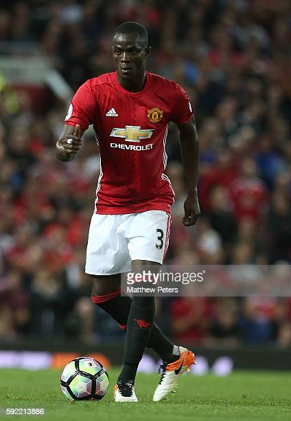 Eric Bailly of Manchester United in action during the Premier League match between Manchester United and Southampton at Old Trafford on August 19,...
