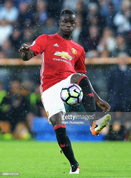Eric Bailly of Manchester United in action during the Premier League match between Hull City and Manchester United at KCOM Stadium on August 27 2016...