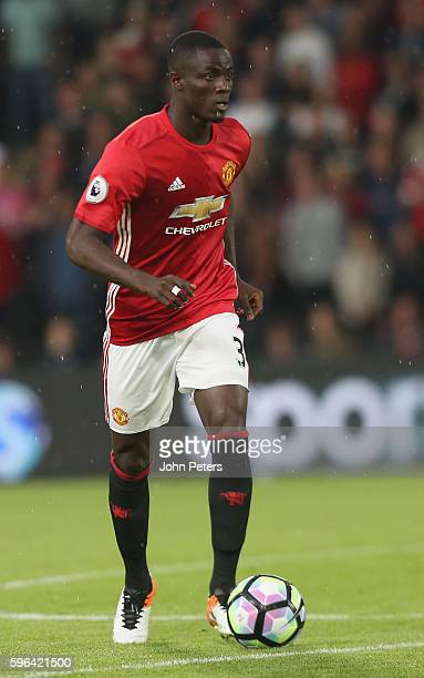 Eric Bailly of Manchester United in action during the Premier League match between Manchester United and Hull City at KC Stadium on August 27, 2016...