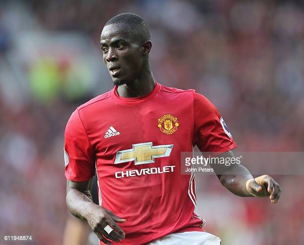 Eric Bailly of Manchester United in action during the Premier League match between Manchester United and Stoke City at Old Trafford on October 2 2016...