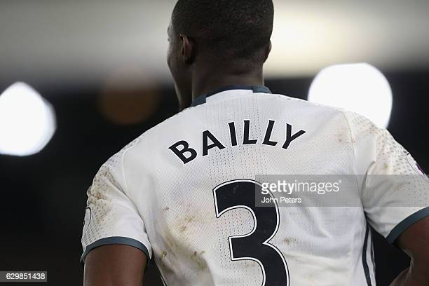 Eric Bailly of Manchester United in action during the Premier League match between Crystal Palace and Manchester United at Selhurst Park on December...