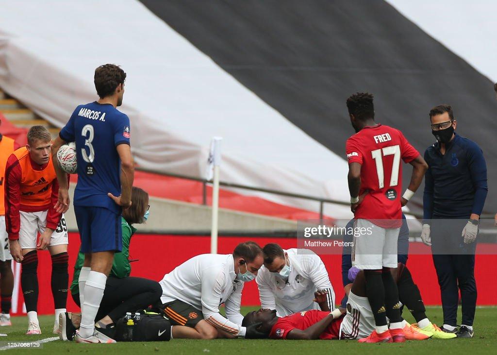Manchester United v Chelsea - FA Cup: Semi Final : News Photo