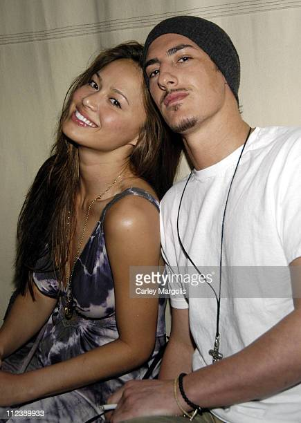 Eric Balfour and guest during Cain Celebrates the Anniversary of Bunny Chow Tuesdays April 11 2006 at Cain in New York City New York United States