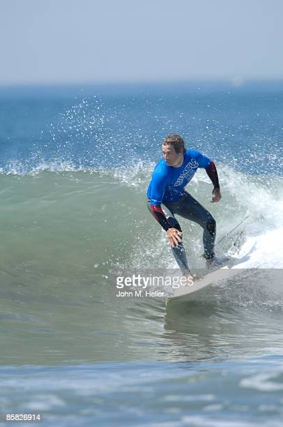 Eric Balfour attends the 2009 Project Save Our Surf 1st Annual Surfathon and Oceana Awards at Ocean Park Beach on April 5 2009 in Santa Monica...