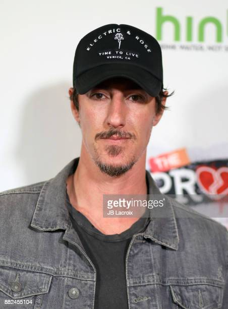 Eric Balfour attends the premiere of The Orchard and Fine Brothers Entertainment's 'F*% The Prom' on November 29 2017 in Los Angeles California
