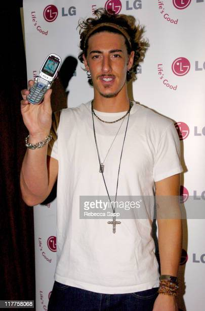 Eric Balfour during 2005 Stuff Style Awards LG at Stuff Style Awards at Hollywood Roosevelt Hotel in Los Angeles California United States