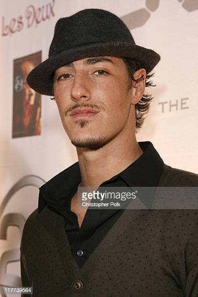 Eric Balfour during '24' Season Five DVD Release at Les Deux in Hollywood California United States
