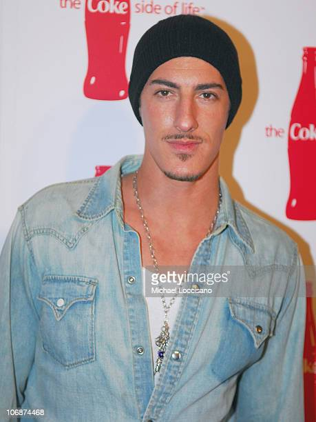Eric Balfour during CocaCola's Coke Side Of Life Launch Party with a Performance by NeYo March 30 2006 at Capitale in New York City New York United...