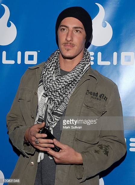 Eric Balfour during Helio Drift Launch Party Arrivals at 400 South La Brea in Los Angeles CA United States