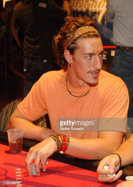 Eric Balfour during Phat Farm Stuff Casino Weekend Poker Tournament at The Palms Hotel and Casino Resort in Las Vegas Nevada United States