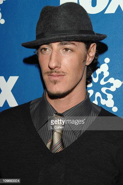 Eric Balfour during The Fox AllStar Winter 2007 TCA Press Tour Party Red Carpet and Inside at Villa Sorriso in Pasadena California United States