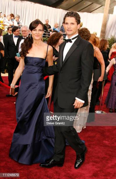 Eric Bana and guest during The 78th Annual Academy Awards Arrivals at Kodak Theatre in Hollywood California United States