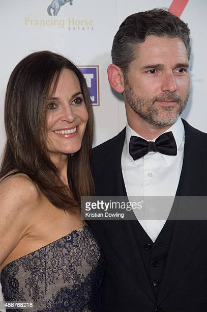 Eric Bana and Rebecca Gleeson arrive ahead of the Red Ball 2015 at the Grand Hyatt on September 5 2015 in Melbourne Australia