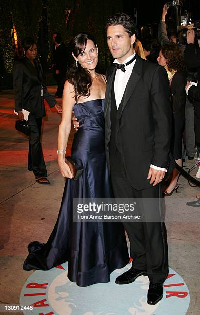 Eric Bana and Rebecca Gleeson during 2006 Vanity Fair Oscar Party Hosted by Graydon Carter Arrivals at Morton's in West Hollywood California United...