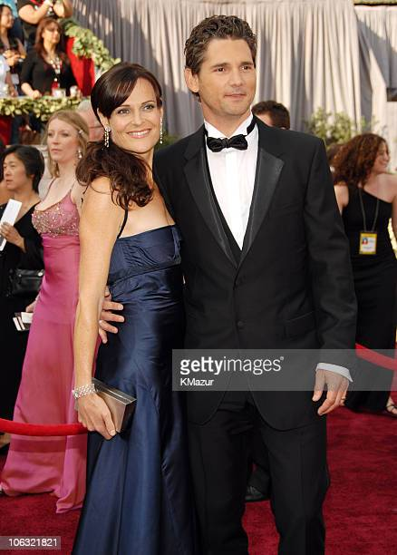 Eric Bana and Rebecca Gleeson during The 78th Annual Academy Awards Entertainment Weekly Arrivals at Kodak Theatre in Hollywood California United...
