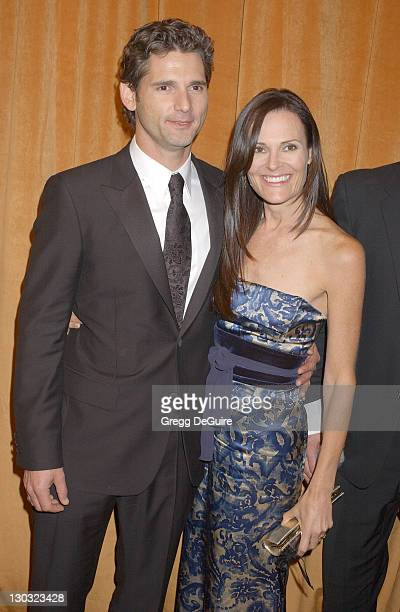 Eric Bana and Rebecca Gleeson during The Weinstein Co/Glamour 2006 Golden Globe After Party Arrivals at Trader Vic's in Beverly Hills California...