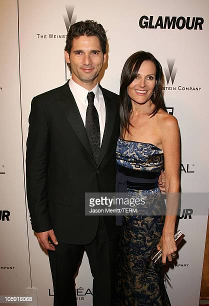 Eric Bana and Rebecca Gleeson during The Weinstein Company/Glamour 2006 Golden Globes After Party at Trader Vic's in Beverly Hilton Hotel California...