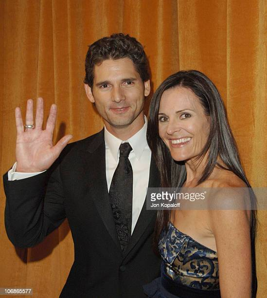 Eric Bana and wife Rebecca Gleeson during The Weinstein Company/Glamour 2006 Golden Globes After Party at Trader Vic's in Beverly Hilton Hotel...