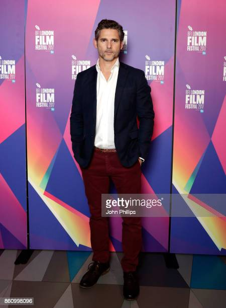 Eric Bana attends a screening for The Forgiven during the 61st BFI London Film Festival at the Picturehouse Central on October 13 2017 in London...