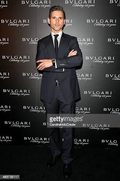 Eric Bana attends the 130th Anniversary of Bvlgari Gala Dinner on April 10 2014 in Sydney Australia