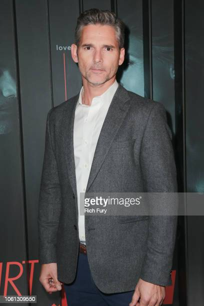 Eric Bana attends the after party for Bravo's anthology series Dirty John world premiere at NeueHouse Los Angeles on November 13 2018 in Hollywood...