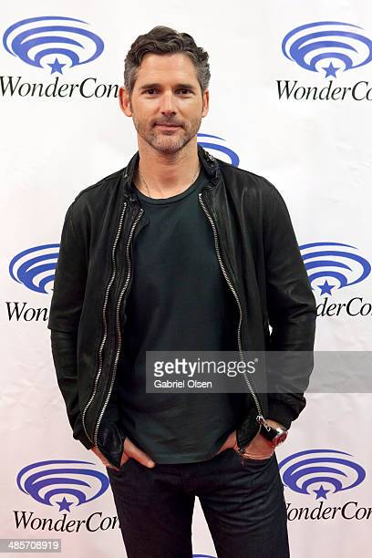 Eric Bana attends WonderCon Anaheim 2014 Screen Gems' Deliver Us From Evil Photo Call at Anaheim Convention Center on April 19 2014 in Anaheim...