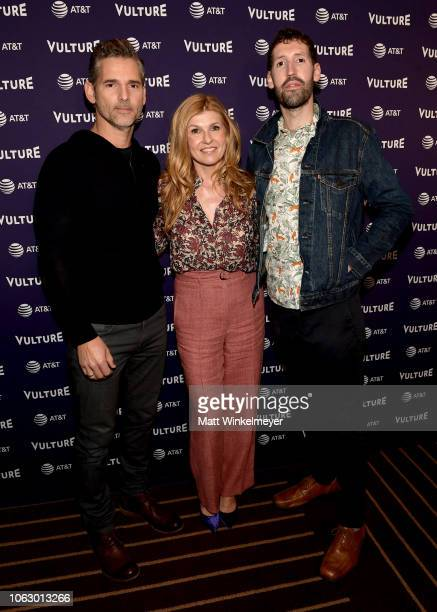 Eric Bana Connie Britton and Nate Jones attend the Vulture Festival presented by ATT at Hollywood Roosevelt Hotel on November 17 2018 in Hollywood...