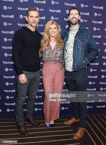 Eric Bana Connie Britton and Nate Jones attend the Vulture Festival Los Angeles 2018 at The Hollywood Roosevelt Hotel on November 17 2018 in Los...