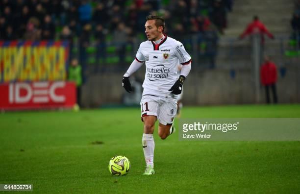 Eric BAUTHEAC Caen / Nice 17eme journee de Ligue 1 Photo Dave Winter / Icon Sport